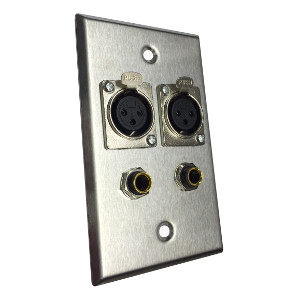 Professional Audio Wall Plates