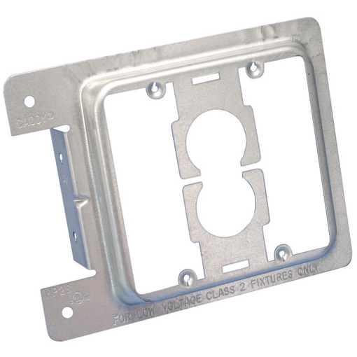 102192C - Caddy Brand - Junction Box Eliminator - Stud Mount - Double Gang - Steel