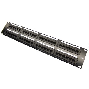 103148 - CAT5e Premium 48-Port Patch Panel