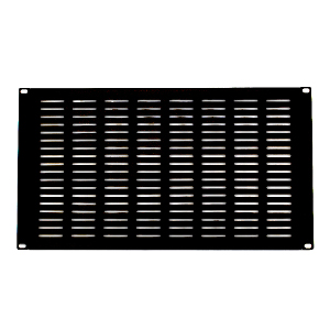 "120158-5V - 19"" Rack Mount Vented Steel Blank Panel Filler - 5U"
