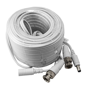 270091/18M - Pre-terminated Siamese Coax BNC Video & DC Power Cable for HD-TVI - 18M (59ft)