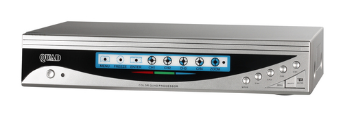 2AM8-508H - 8 Channel Color Multiplexer (Quad) with Remote Control
