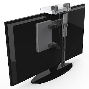 309405bk Foldable Hidden Cable Box Dvd Mount