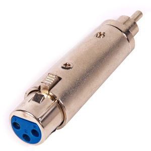 503564 - 3-Pin XLR Female to RCA Male Adapter