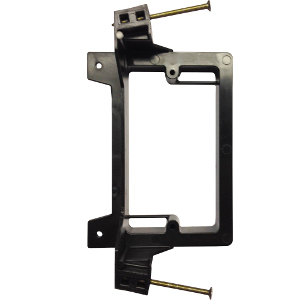 102193NCN - Low Voltage Mounting Bracket for New Construction - Nail-On - Single Gang - Plastic