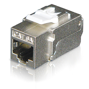 102671-S - CAT6A - RJ45 - 10G Shielded Punch Down Keystone Jack Insert
