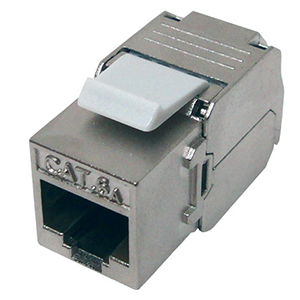 102675-S - CAT6A - RJ45 - 10G Shielded Toolless Keystone Jack Insert