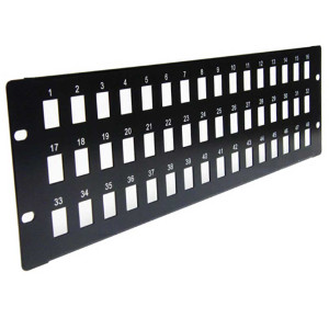 103048 - 48-Port Blank Keystone Patch Panel
