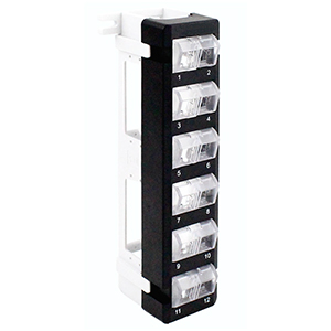 103095 - 12-Port Blank Patch Panel Wall Mount