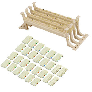 104150 - 110 Wiring Block Kit - 100 Pair with Legs and Wafers