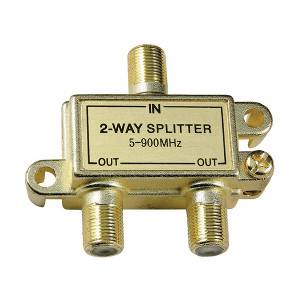 108612 - 2-Way Coax Splitter - 5-900Mhz