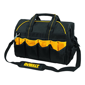 "109705 - DeWalt - 18"" 28 Pocket - Pro Contractor's Closed Top Tool Bag- DG5553"