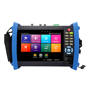 "109923 - 7"" Retina Touch Screen All-In-One CCTV Tester (5MP TVI, CVI, AHD, IP, CVBS)"