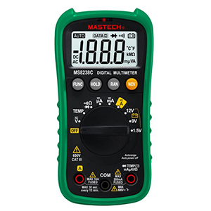 109951 - Digital Multimeter with Auto Range and Temperature Measurement
