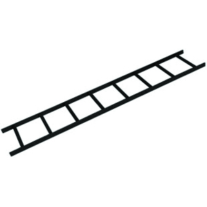 119312 - Ladder Rack - Straight Section - 12in x 6ft