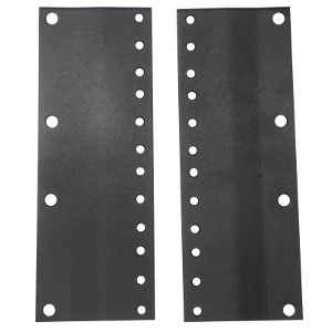 "120002-4U - 23"" to 19"" Rack Reducer Adapter Brackets - 4U"