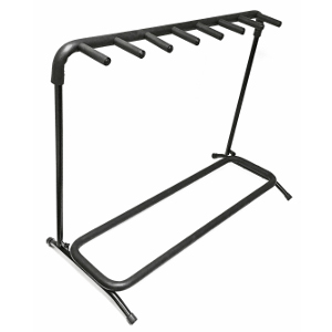 120350-7 - Folding Guitar Stand - Holds 7 Guitars