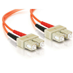 162203/10M - SC-SC Multimode Duplex Fiber Optic Jumper - 62.5/125 - 10 Meter