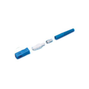 162415 - SC Connector, Singlemode Crimp, for 3mm Cable, Blue Housing, Blue