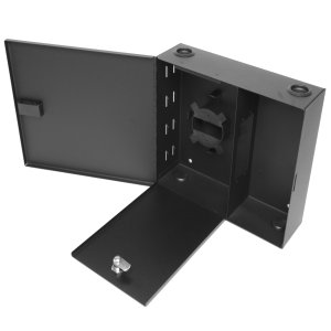 163161 - Fiber Wall Mount Distribution Enclosure - Holds 2 Panels, 2 Doors