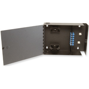 163168 - Fiber Wall Mount Distribution Enclosure - Holds 2 Panels, 1 Door