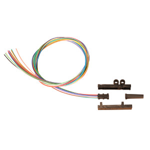 167912 - Fiber Fan Out Kit, 12 Strand, 25""