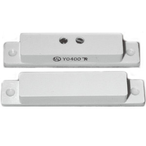 244126WH - TANE 60-QC - Surface Mount Contact w/Quick Connect Terminals (Screw Down or Adhesive) - White