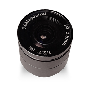 "245842 - CS Mount Camera Lens - Fixed IRIS - Fixed Focal - 1/2.7"", 2.8mm, F1.4, 3 Megapixel"