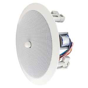 "246606V - 8"" Speaker w/12"" Grille - Dual Cone and Volume Control - Modern Style"