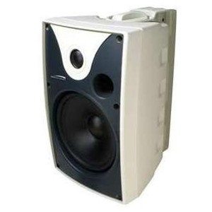 "246643WH - 6.5"" All-Weather Extreme Indoor/Outdoor Speaker w/Transformer - White (Sold as a Pair)"