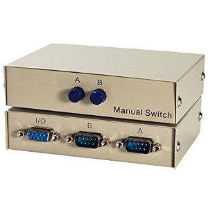 250508 - 2-Port DB9 RS232 Serial Switch