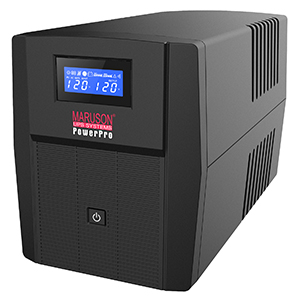 260623 - PowerPro Series - 1000VA - LCD display - 8 Outlets UPS
