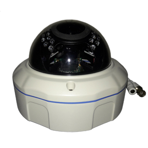 "2DVI8902V - 4.7"" IR Dome Camera - Sony - Outdoor - Vandal Proof - 3MP - 2.8-12mm Varifocal Lens"