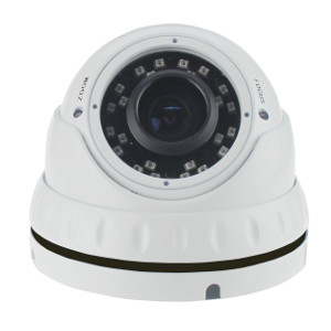 2DVTV200V - HD Analog (TVI, AHD, CVI, CVBS) IR Dome Camera - Outdoor - Sony - 1080P - 2.8-12mm Varifocal Lens