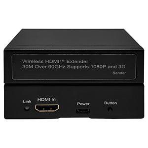301018 - Wireless HDMI Extender - Up to 30M over 60GHz - Supports 1080P and 3D
