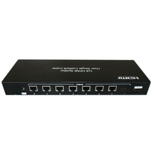 301044 - 1x8 HDMI Splitter & Extender over Single CAT5e/6 (Receivers Sold Separately)