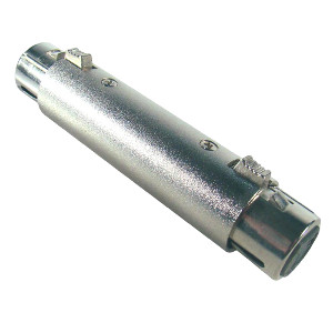 503562 - 3-Pin XLR Female to 3-Pin XLR Female Adapter