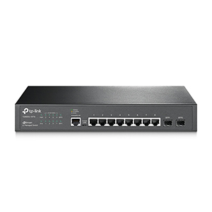 T2500G-10TS - TP-Link - JetStream 8-Port Gigabit L2 Managed Switch with 2 SFP Slots